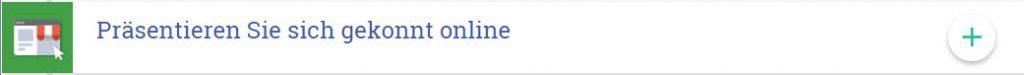 Screenshot Google Lernziel - Präsentieren Sie sich gekonnt online